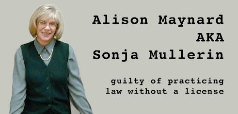 Alison Maynard aka Sonja Mullerin lives in San Antonio Texas