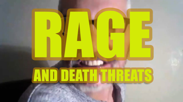 Montagraph AKA Roy Warren Marshall AKA Steve Quest of Denver, Colorado… MAKING DEATH THREATS!