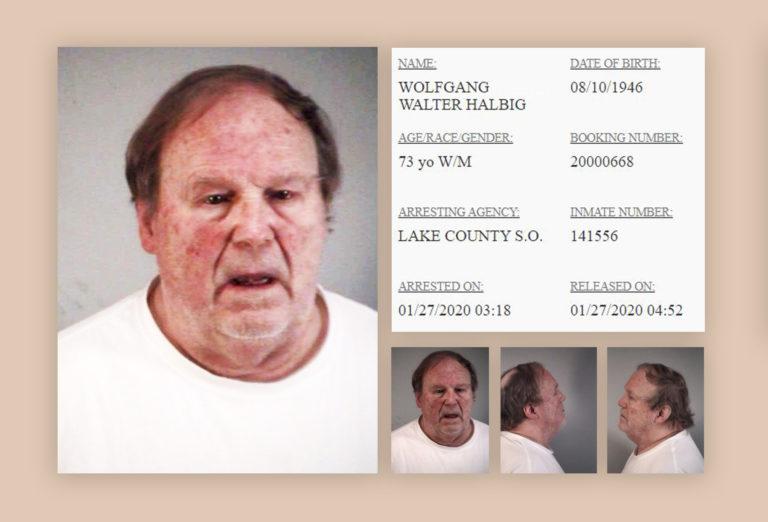 Wolfgang Halbig ARRESTED in Sorrento, Florida